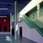 Maria Montessori Gesamtschule Aachen Treppenhaus
