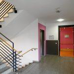 Altenwohnheim Farbgestaltung Innenansicht