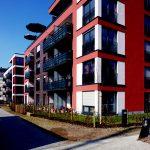 Köln Alpener Straße Wohnhaus Farbgestaltung außen