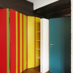 Wohnhaus Walberberg Farbgestaltung Innenansicht