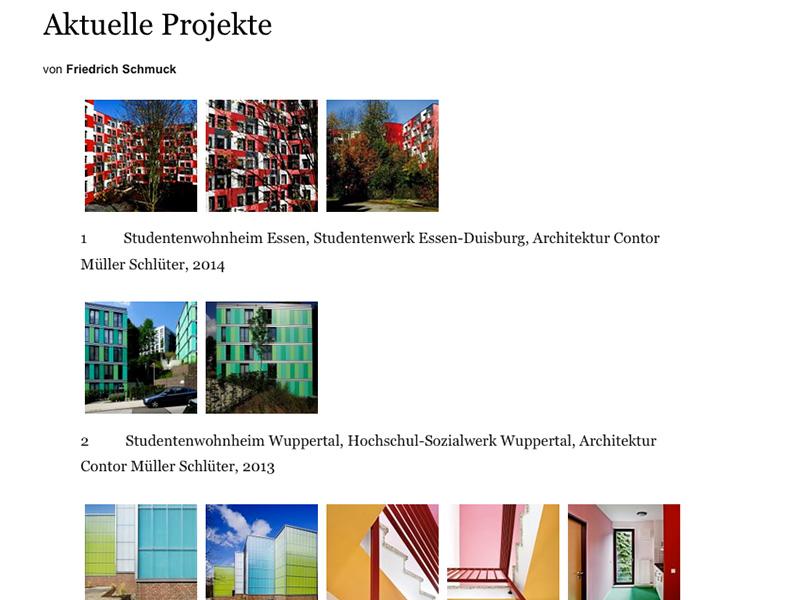 Farben Entwerfen Für Architektur Projekte 1: AktuelleProjekte_FriedrichSchmuck