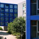 Farbgestaltung außen Studentenwohnheim Wuppertal