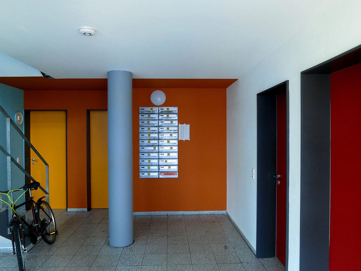 Farben Entwerfen Für Architektur Projekte 1: Studentenwohnheim Wuppertal