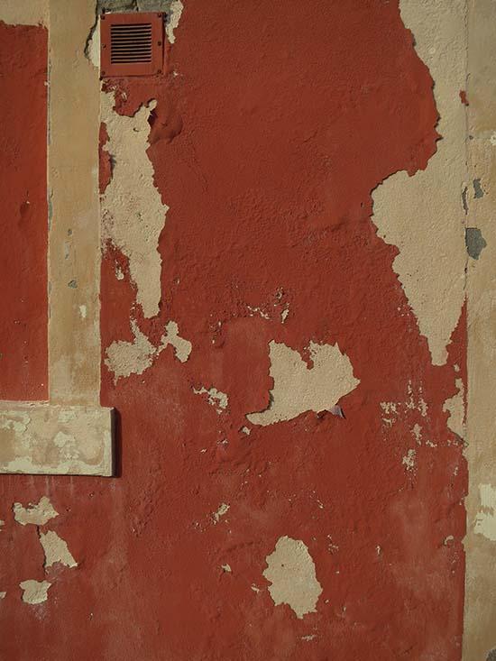 Fassadengestaltung auf Burano - nachlässig