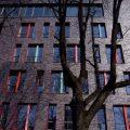 Bürogebäude am Rheinauhafen Außenansicht