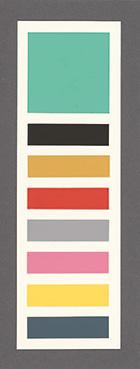 Grafik Die acht Bildfarben
