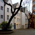 Düsseldorf Häuserzeile an der Zollstraße