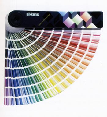 Farbfächer Sikkens Farbenkollektion