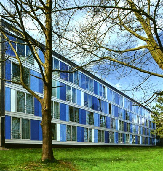 Fassadengestaltung Feuchterstiftung Wuppertal Friedrich Schmuck