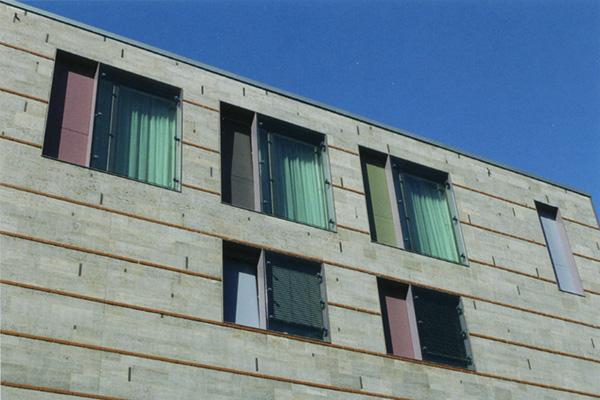 Farbengestaltung Fassade Stubenhaus Münster