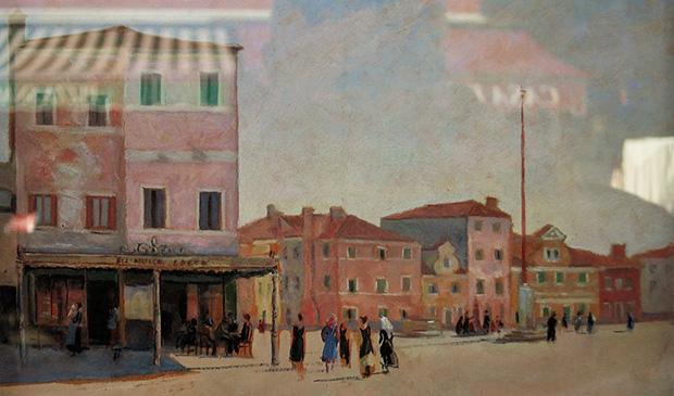 Friedrich Schmuck – Farbsimluation für die Fassadenfarbigkeit auf Burano in den 1940er Jahren