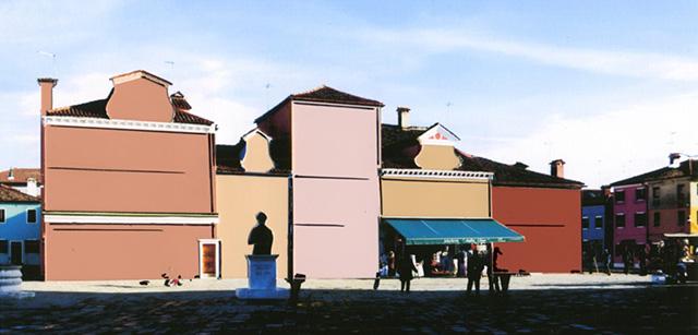 Friedrich Schmuck – Farbsimluation für die Fassadenfarbigkeit auf Burano