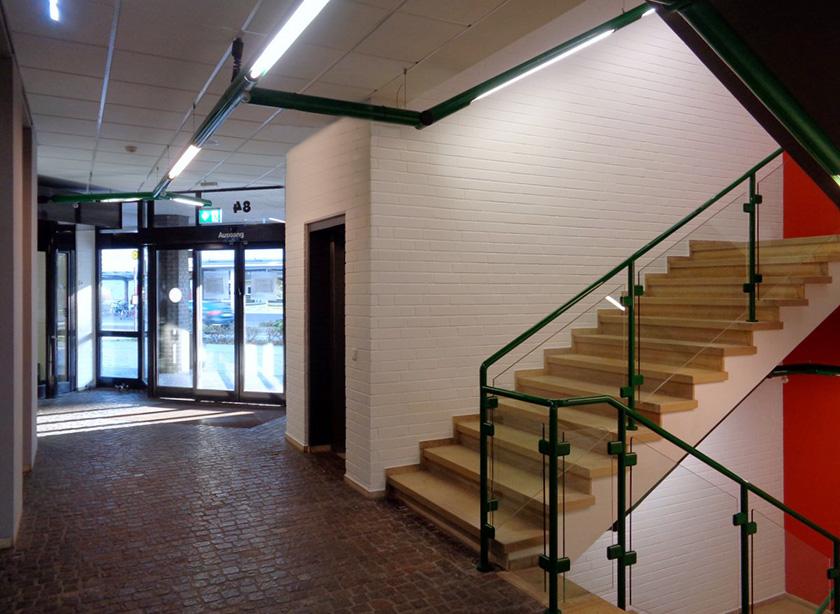 Stadtbibliothek Dinslaken Innenraumgestaltung Friedrich Schmuck