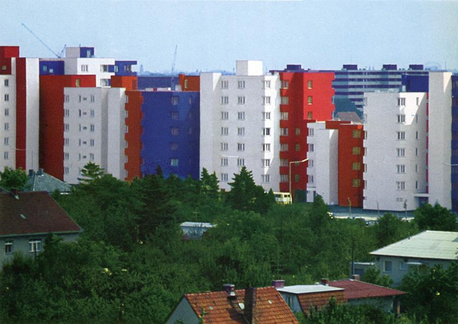 Märkisches Viertel Berlin Wohnanlage
