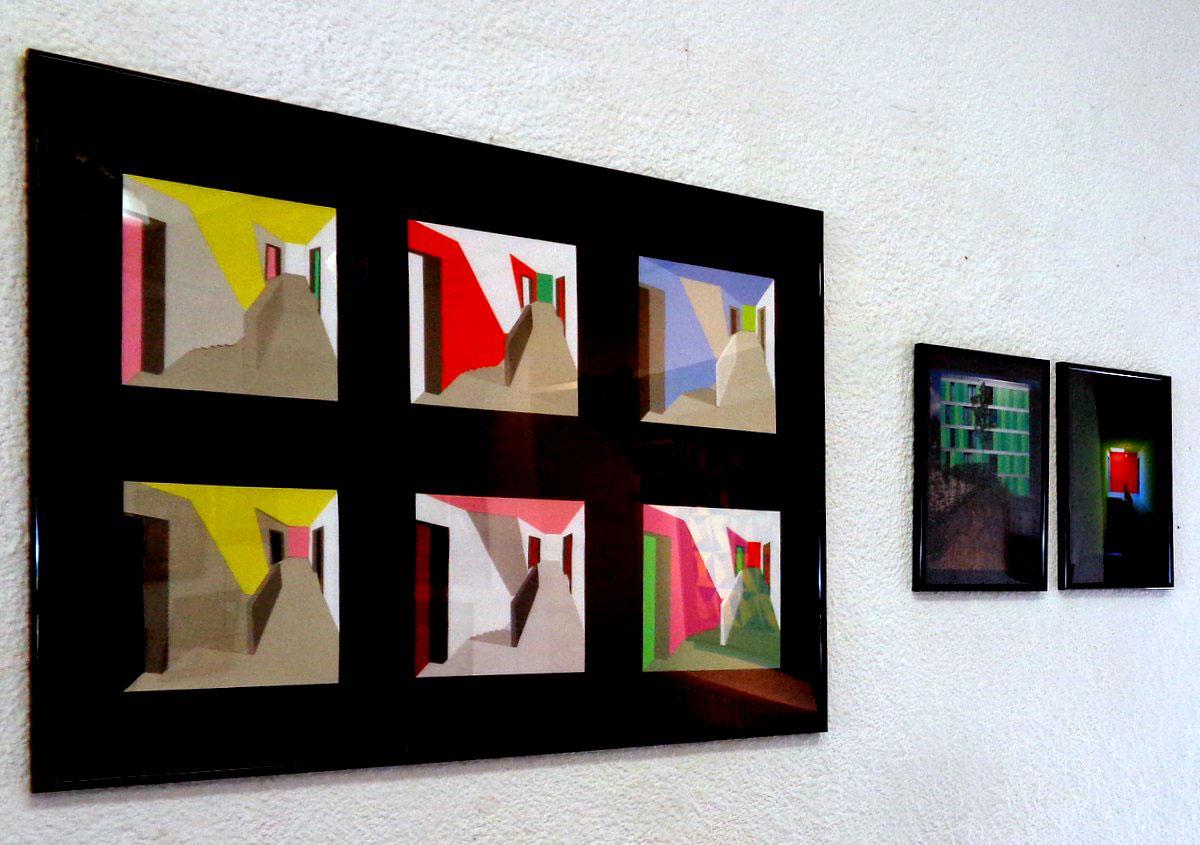 Friedrich Schmuck Ausstellung über Farbe Emmerich
