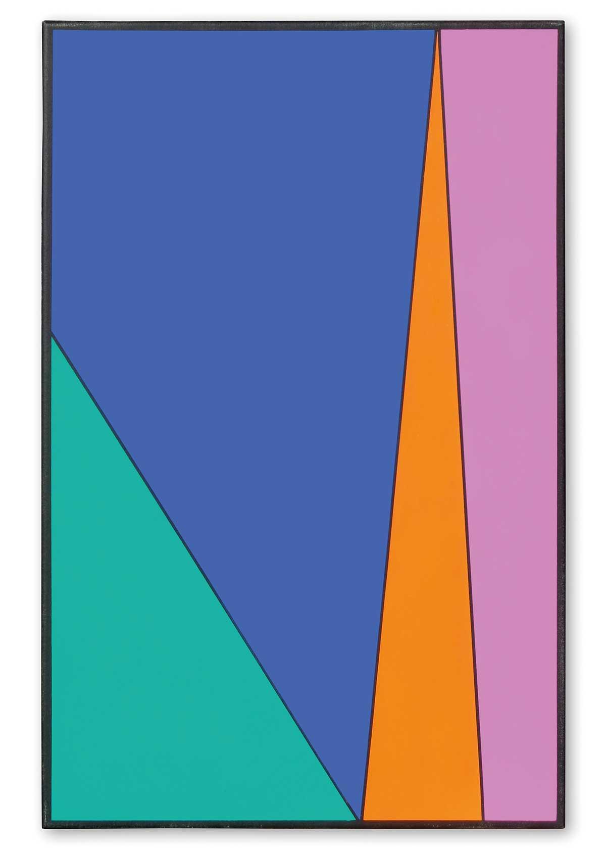 Bildausschnitt aus der Neujahrskarte Friedrich Schmuck Farbdesigner